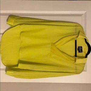 Neon yellow blouse.  Never worn but no tags